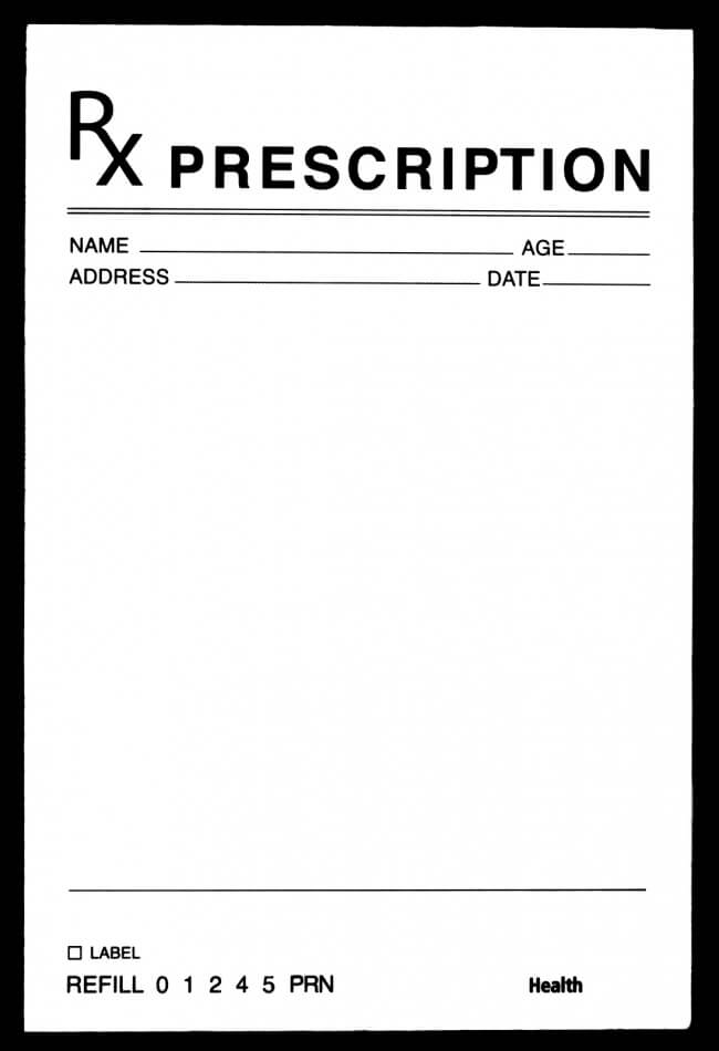 Prescription Vicodin